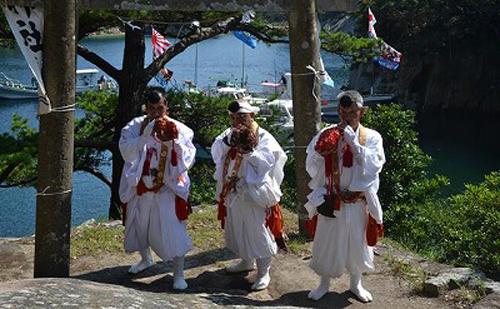 徳島県牟岐町に伝わる、おおらかで大胆な「奇祭」