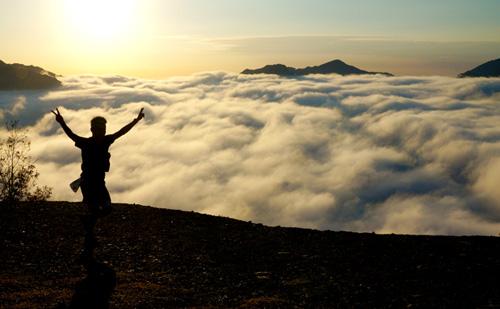 巨大な雲海出現して最高のコース!熊野古道トレイルランニングレース